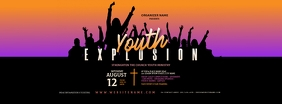 Youth Explosion Facebook Cover Photo template
