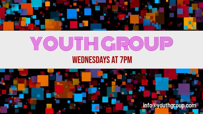 Youth Group Display Video
