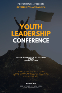 Youth Leadership Conference Flyer Template Poster