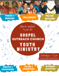 Youth Ministry Flyer