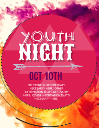 Youth Night Event Flyer Template