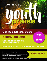 Youth Night Flyer