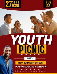 Youth picnic Pamflet (VSA Brief) template