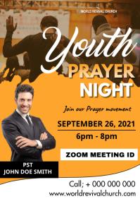 Youth Prayer Night A3 template