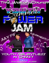 Youth Summer Power Jam