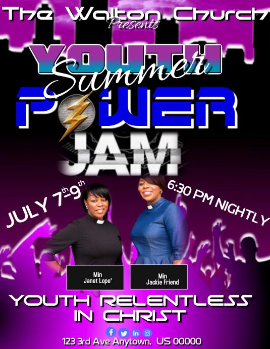 Youth Summer Power Jam