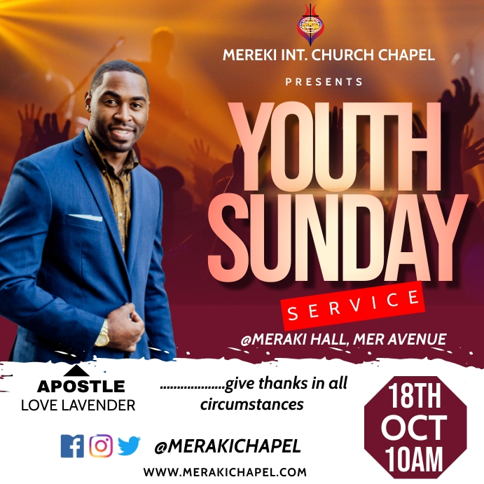 Youth Sunday Pos Instagram template