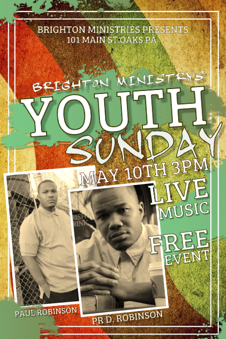 youth sunday template