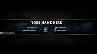 youtube banner by belkacem_designer_ template