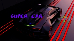 Youtube Channel Art Banner CAR