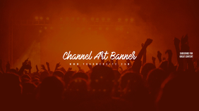 Youtube Channel Art Crowd Concert