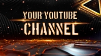 Youtube channel art template