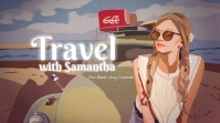 Youtube Channel Art - Travel template