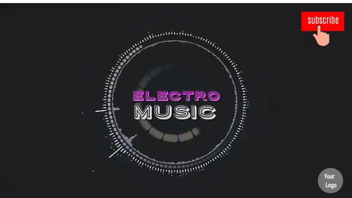 YOUTUBE CHANNEL MUSIC COVER template