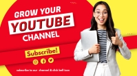 YouTube Channel thumbnail template