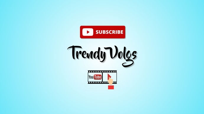 YouTube cover photo template