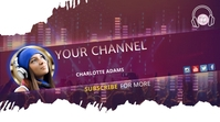 Youtube DJ & music template