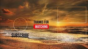 Youtube End Card Design Template Isithonjana se-YouTube