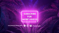 youtube end screens Isethulo (16:9) template