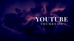 Youtube Sky Lightning Thumbnail