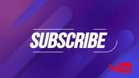 Youtube Subscribe editable video template