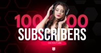 YouTube Subscribers Video Thumbnail Facebook Shared Image template