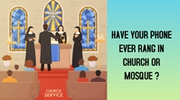 YouTube Thumbnail - Church, event, sports template