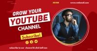 YouTube thumbnail Anúncio do Facebook template