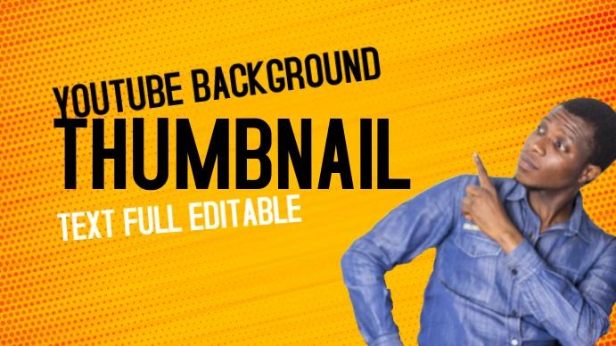 YouTube Thumbnail Pantalla Digital (16:9) template
