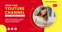 YouTube thumbnail Facebook-annonce template