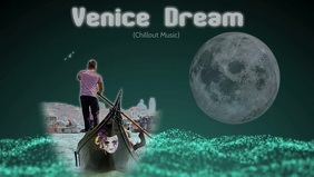 Youtube thumbnail/facebook video/venice/italy