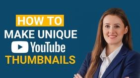 YouTube Thumbnail Template YouTube-thumbnail