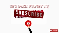 YOUTUBE THUMBNAIL VID W YouTube-miniature template