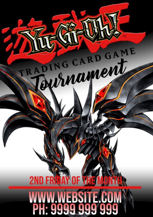 Yu-Gi-Oh A5 template