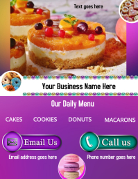 Yummy Delights Template