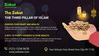zakat collection blog header post template