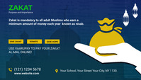 Zakat collection blog post template