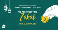 Zakat collection facebook ad template