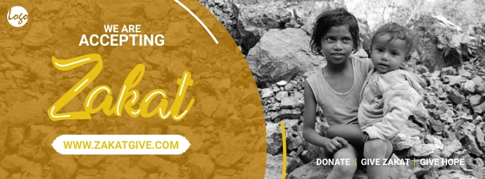 Zakat collection facebook post template