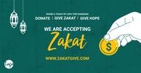 Zakat facebook image template