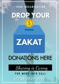 Zakat Flyer A3 template