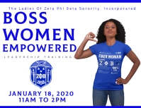 Zeta Phi Beta women empowerment leadership conference