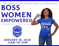 Zeta Phi Beta women empowerment leadership conference Iflaya (Incwadi ye-US) template