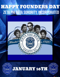 Zeta phi beta FOUNDERS DAY
