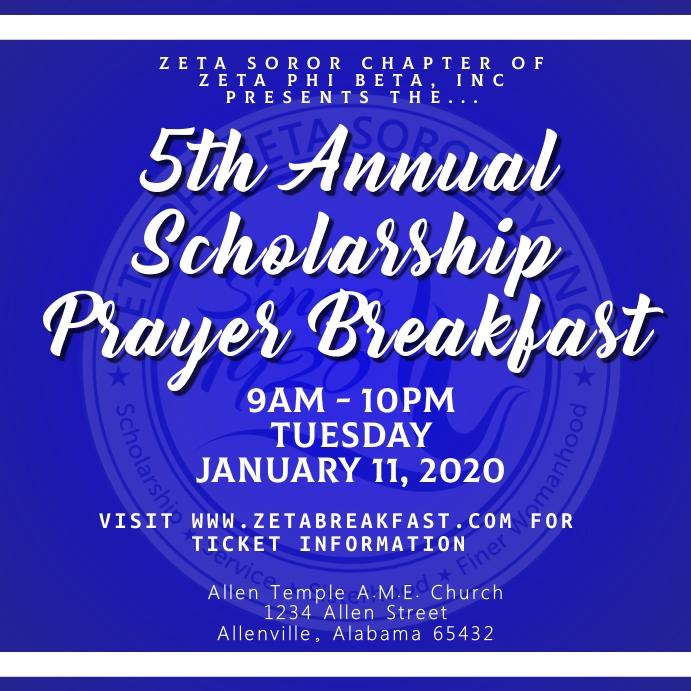 Zeta Prayer Breakfast