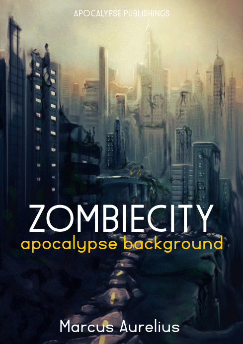 zombie city apocalypse book cover
