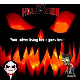 zombie Instagram Post template
