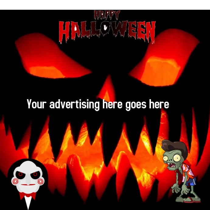 zombie Wpis na Instagrama template