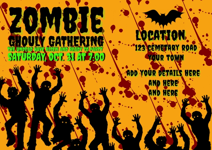 ZOMBIE GHOULY GATHERING