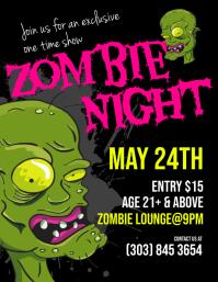 Zombie Night Flyer